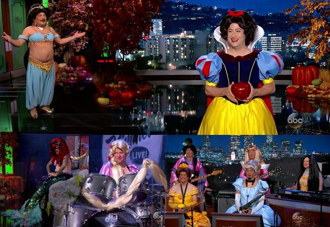 Jimmy Kimmel Princess of Late Night