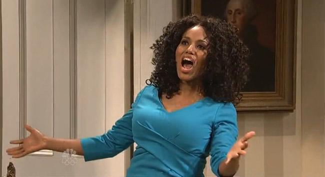 Kerry Washington SNL's only black woman