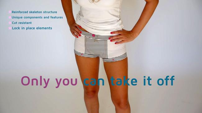 Modern-day chastity belt prevents rape (AR Wear)