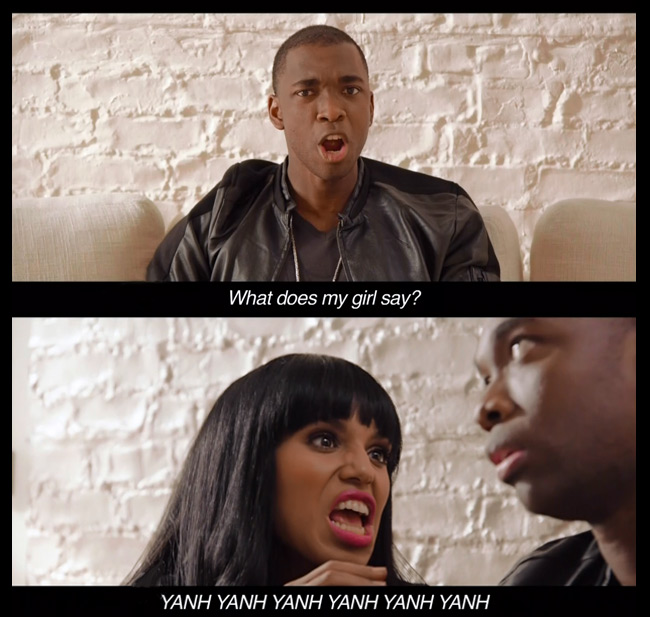 SNL What Does the Fox Say parody (Kerry Washington and Jay Pharoah)