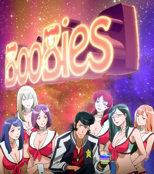 Space Dandy boldly goes where anime has gone before