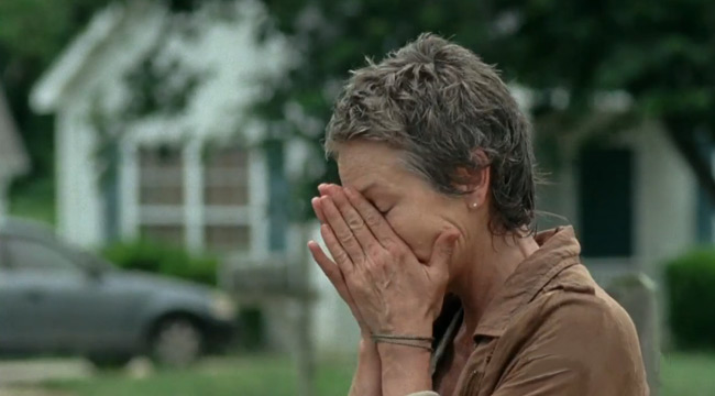 Walking Dead's Melissa McBride defends her character
