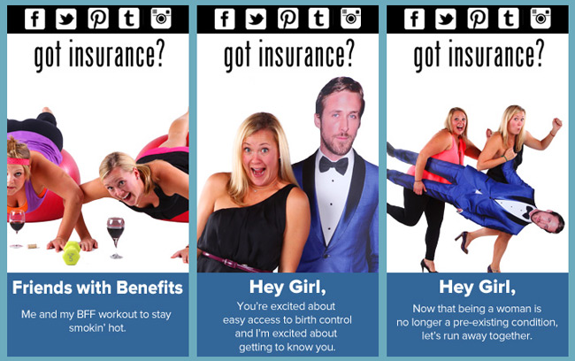 obamacare got insurance Ryan Gosling