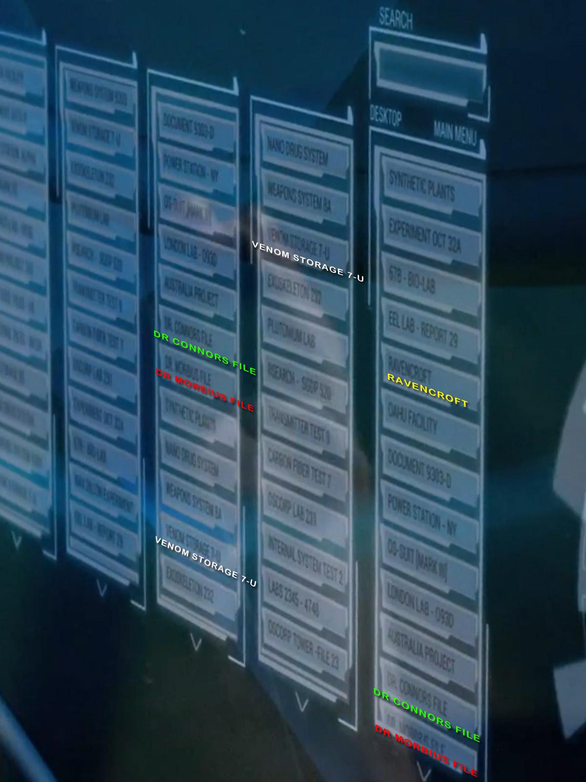 Amazing Spider-Man trailer (Venom, Dr Connors, Dr Morbius, Ravencroft)