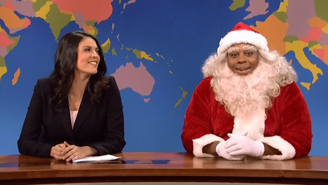 Black Santa sets the record straight on SNL (Kenan Thompson)