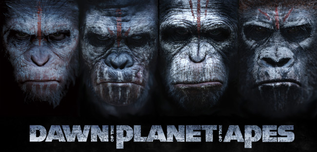 Dawn of the Planet of the Apes posters