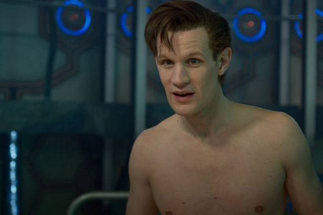 Doctor Who gay Matt Smith reveals all (The Time of the Doctor - Matt Smith)