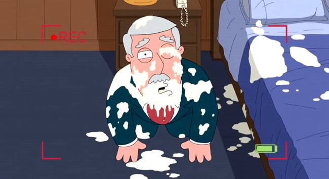 Family Guy Christmas episode gets very naughty (Christmas Guy - Carter Pewterschmidt eggnog).