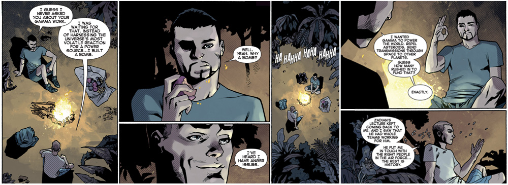 Indestructible Hulk Annual 1 (Gamma bomb origin story)