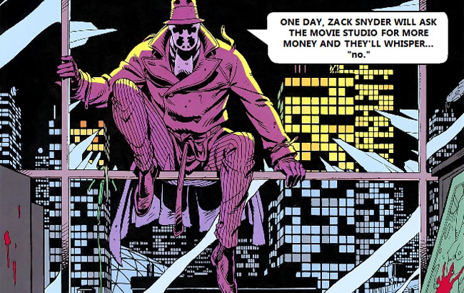 Low budget DC Comics movies (Watchmen Rorschach)