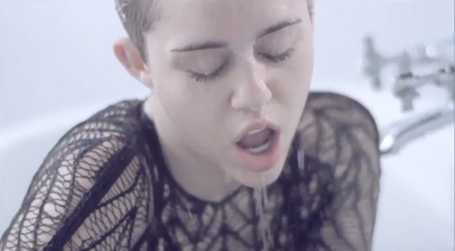 Miley Cyrus Adore You music video most sexy one yet