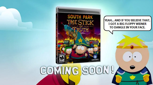 South Park Console Wars Over (Titties and Dragons - The Stick of Truth coming soon)