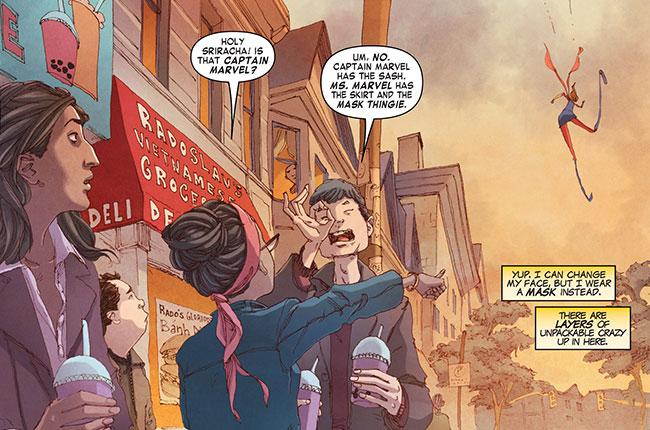 All-New Marvel Now! Point One 1 (Muslim Ms. Marvel VS Captain Marvel)