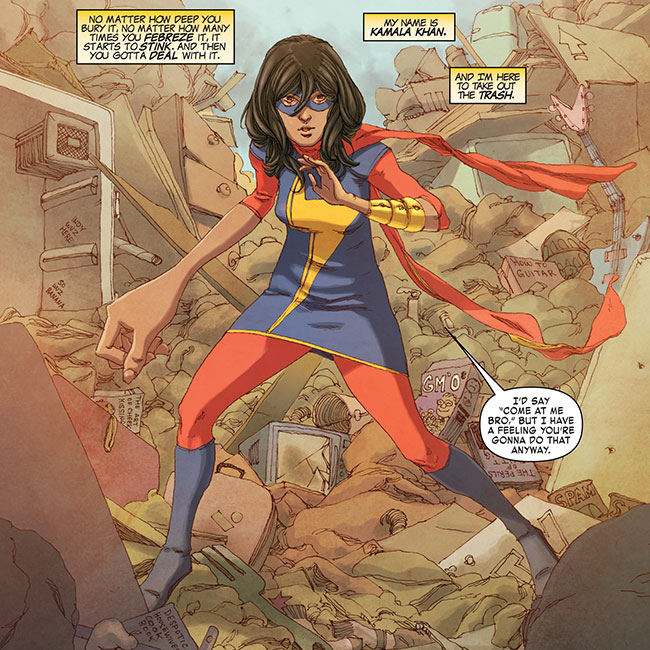All-New Marvel Now! Point One 1 (Muslim Ms. Marvel)