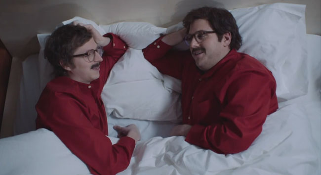 Jonah Hill and Michael Cera star in Saturday Night Live Her parody