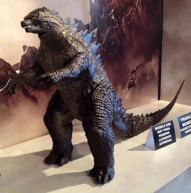 New Godzilla Toy Leaked