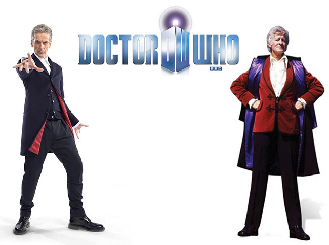 Peter Capaldi shows off new costume for Doctor Who