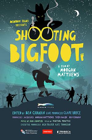 Shooting Bigfoot movie poster