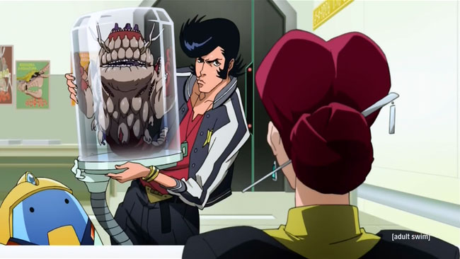 Space Dandy VS Booby monster Mamitas transformed (Occasionally Even the Deceiver is Deceived, Baby)
