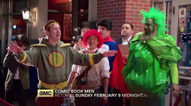 Superman Dean Cain guest stars on Comic Book Men