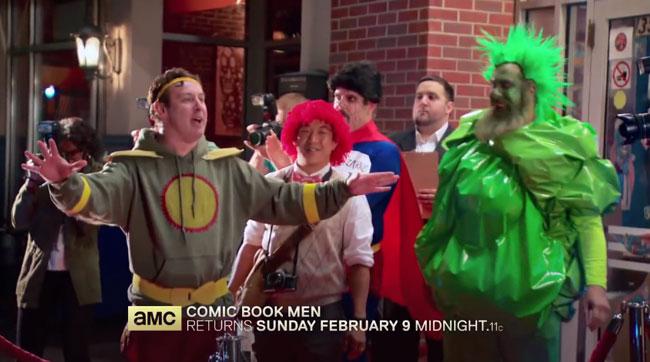 Superman Dean Cain guest stars on Comic Book Men