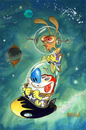 The Ren & Stimpy Show Space Madness