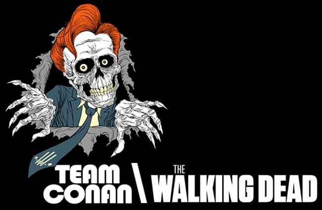 The Walking Dead cast on Conan