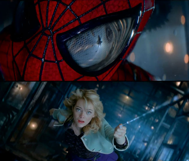 Amazing Spider-Man 2 trailer makes fanboy sense tingle Peter Parker (Andrew Garfield) Gwen Stacey (Emma Stone)