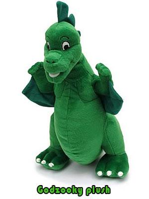 Godzilla Godzooky plush toy
