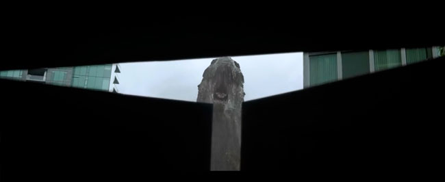 Godzilla trailer Godzilla eats Mothra