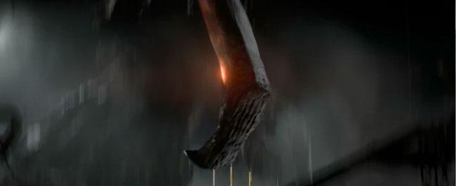 Godzilla trailer MUTO spider leg