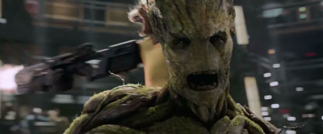 Guardians of the Galaxy teaser (Groot and Rocket Raccoon)