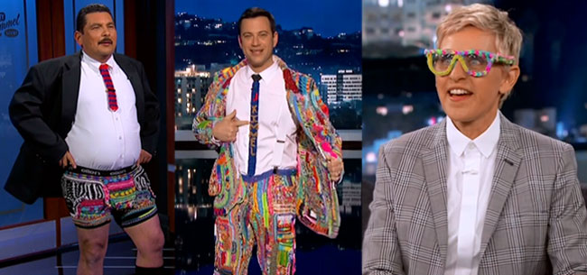 Jimmy Kimmel Suit of the Loom Auction