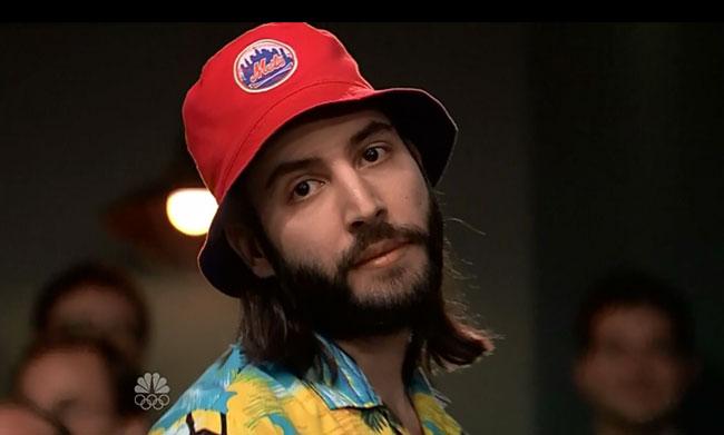 Late Night with Jimmy Fallon finale (Mets Bucket hat guy walks out)