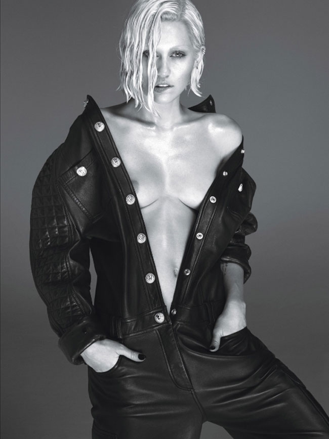 Miley Cyrus nude spreads (plural) - W Magazine