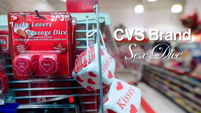 Saturday Night Live CVS Valentine's Day commercial