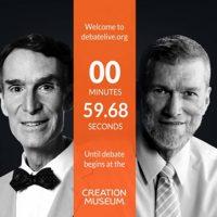 Science vs Religion Bill Nye The Science Guy debates Creationist Ken Ham