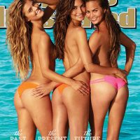 Sports Illustrated Swimsuit 50th issue cover Nina Agdal Lily Aldridge Chrissy Teigen