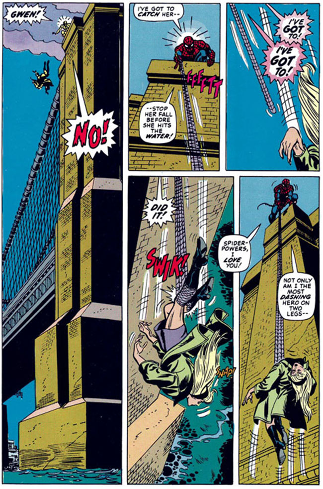 The Amazing Spider-Man 121 the death of Gwen Stacy