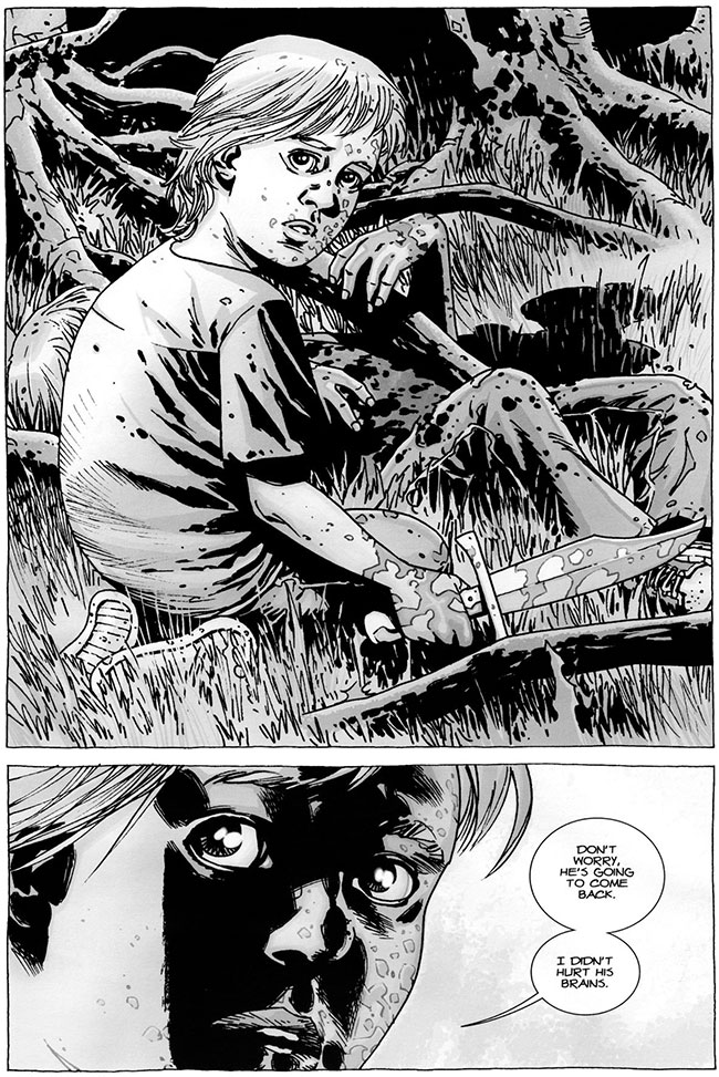 The Walking Dead #61 Ben
