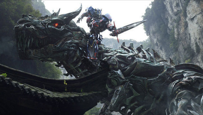 Transformers 4 Age of Extinction trailer features Dinobots