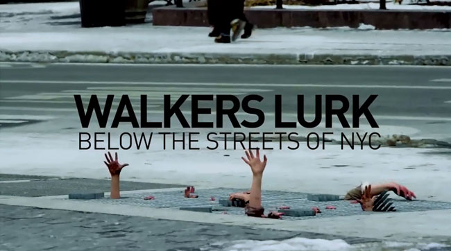 Walking Dead zombie prank sinks to new low