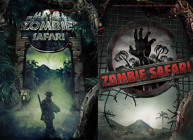 Zombie Safari movie is a Jurassic Park clone