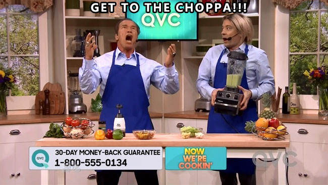 Arnold Schwarzenegger tells Jimmy Fallon to Get to the Choppa