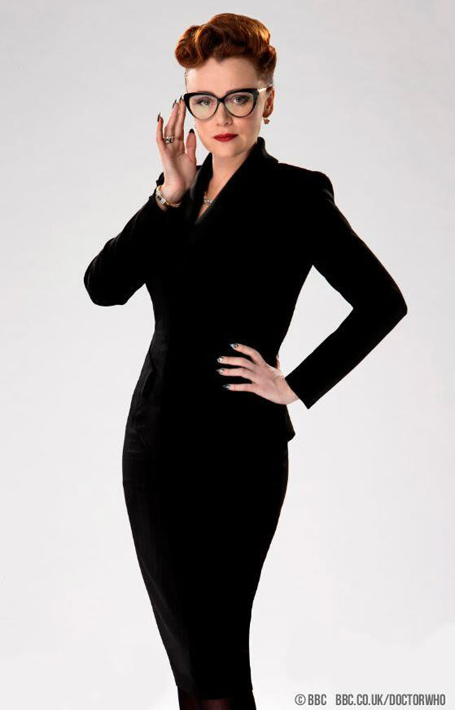 Case closed Doctor Who big bad is Keeley Hawes