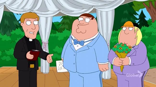 Family Guy Fresh Heir (Peter and Chris wedding)