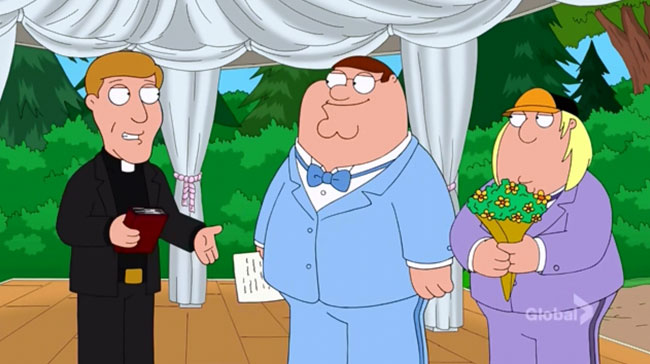 Family Guy Fresh Heir (Peter and Chris wedding)