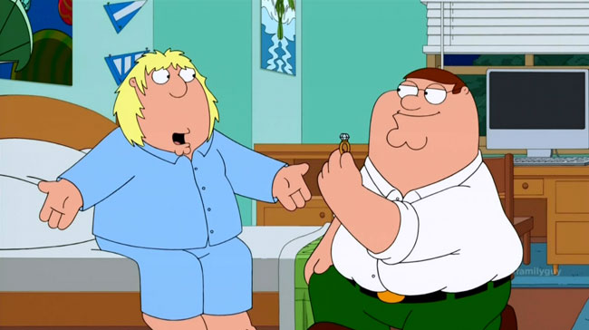 Family Guy Fresh Heir (Peter proposes to Chris)