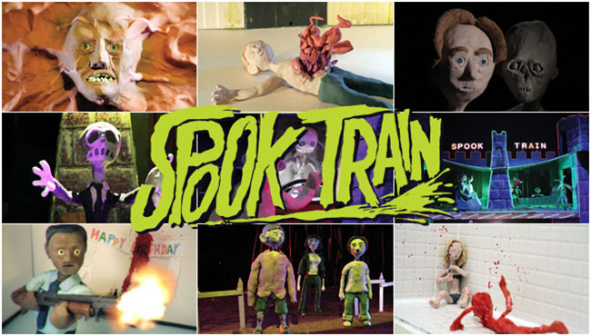 Lee Hardcastle's Spook Train takes you on one Hell of a ride