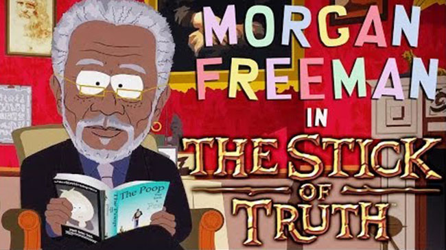 Morgan Freeman Narrates South Park Stick of Truth